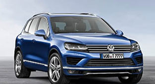 Rent a luxury car in Zagreb VW Tuareg