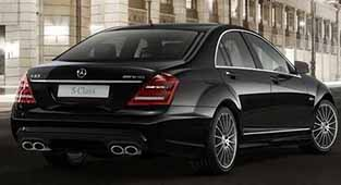 Rent a luxury car in Zagreb Mercedes S-class AMG pack