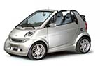 Rent a car Smart for two cabrio